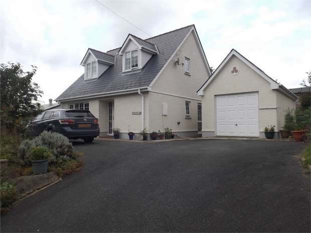 3 Bedrooms Detached House for sale in Glanduar, Llanybydder, Carmarthenshire