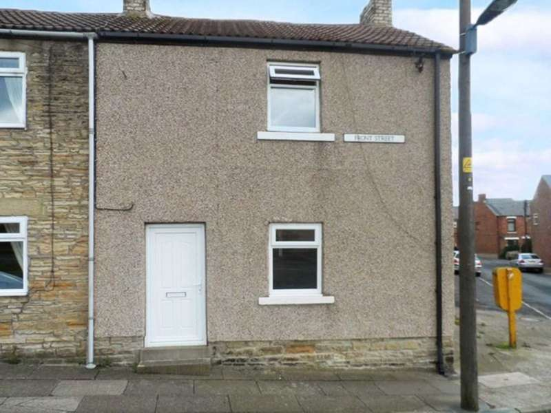 2 Bedrooms End Of Terrace House for sale in Front Street, Crook