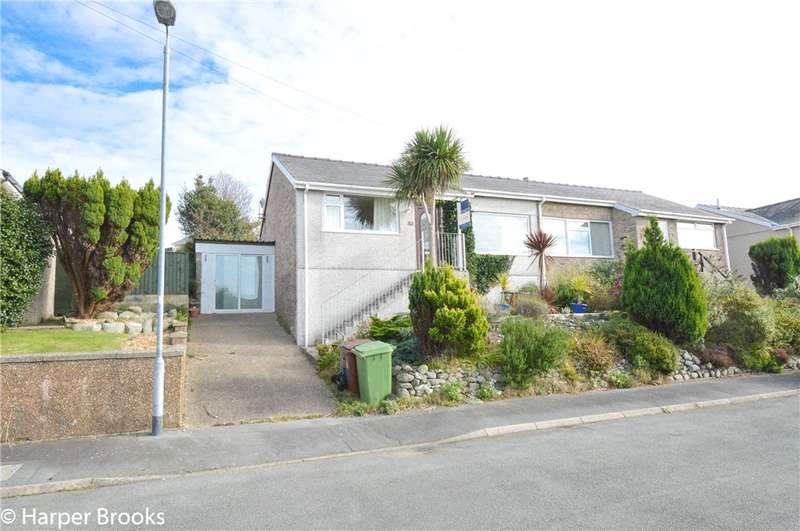 2 Bedrooms Semi Detached Bungalow for sale in Bro Enddwyn, Dyffryn Ardudwy, Gwynedd, LL44