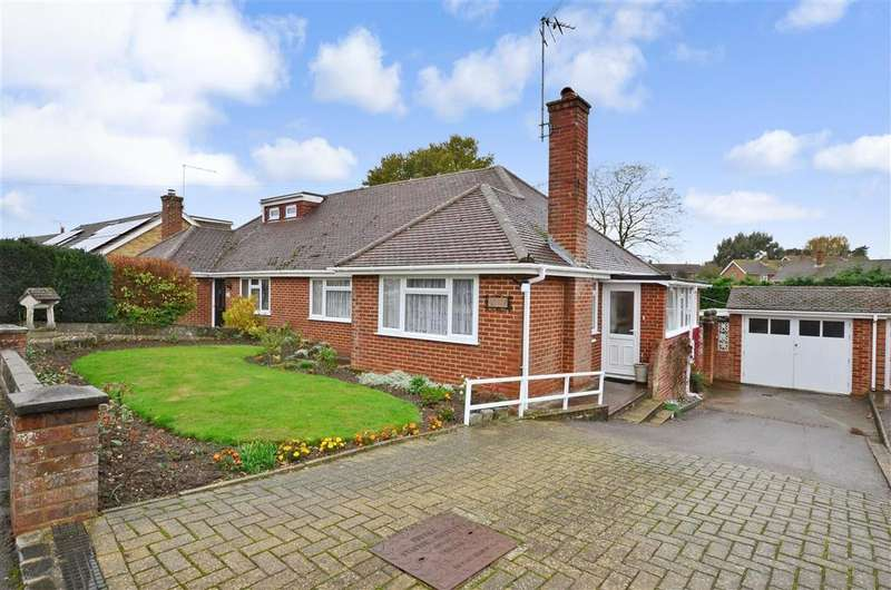 2 Bedrooms Semi Detached Bungalow for sale in Dickens Close, Langley, Maidstone, Kent