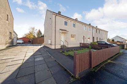 2 Bedrooms End Of Terrace House for sale in Bute Crescent, Shotts