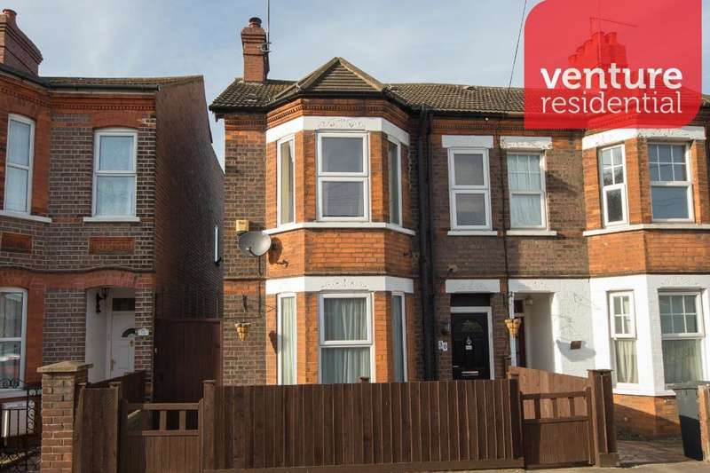 3 Bedrooms End Of Terrace House for sale in Grange Avenue, Luton, LU4 9AT