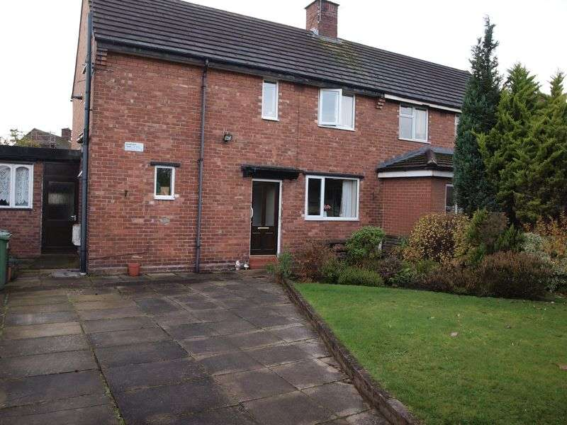 3 Bedrooms Semi Detached House for sale in Northwich Road, Weaverham, CW8 3BD