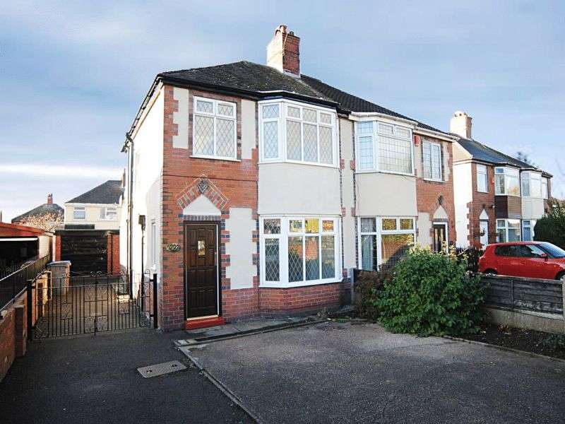 3 Bedrooms Semi Detached House for sale in Blurton Road, Blurton, Stoke-On-Trent, ST3 3AY