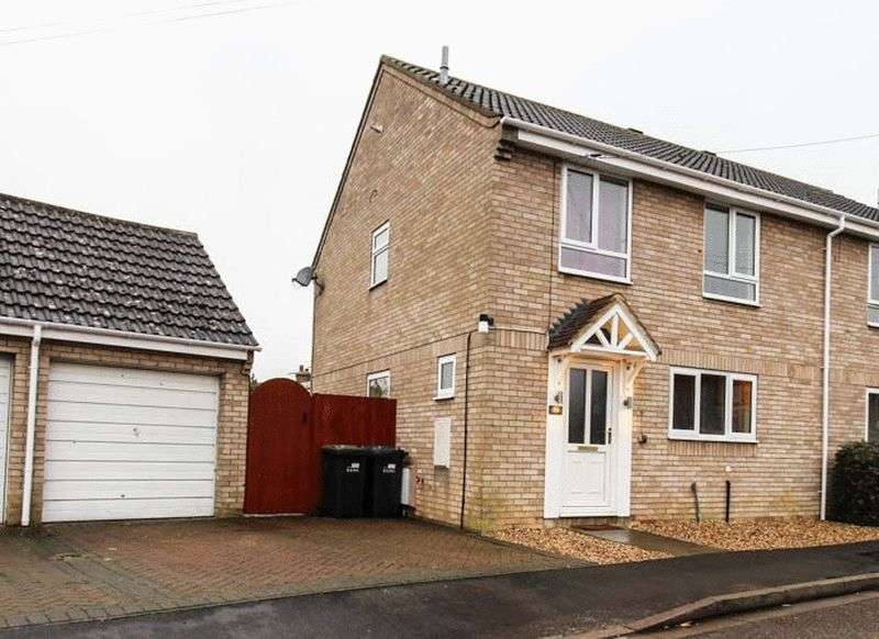 4 Bedrooms Semi Detached House for sale in Guntons Close, Soham