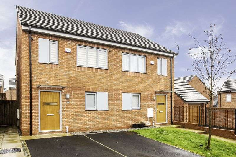 2 Bedrooms Semi Detached House for sale in Greene Way, Salford