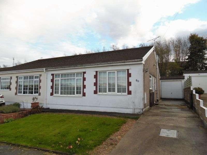 2 Bedrooms Semi Detached Bungalow for sale in Heol-y-Bardd Bridgend CF31 4TB