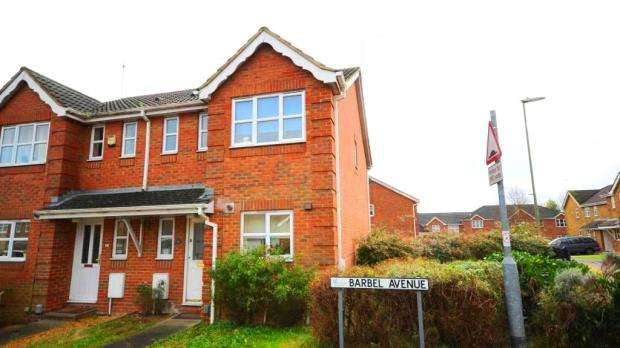 3 Bedrooms End Of Terrace House for sale in Barbel Avenue, Basingstoke, Hampshire