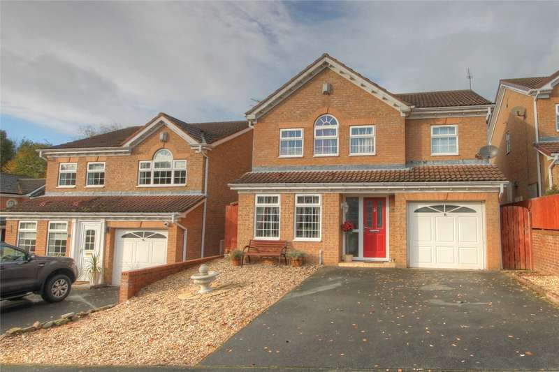 4 Bedrooms Detached House for sale in Riverside, South Church, Bishop Auckland, DL14