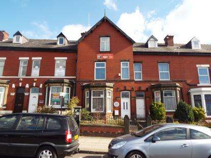 4 Bedrooms Terraced House for sale in Knowsley Street, Bury, Greater Manchester, BL9