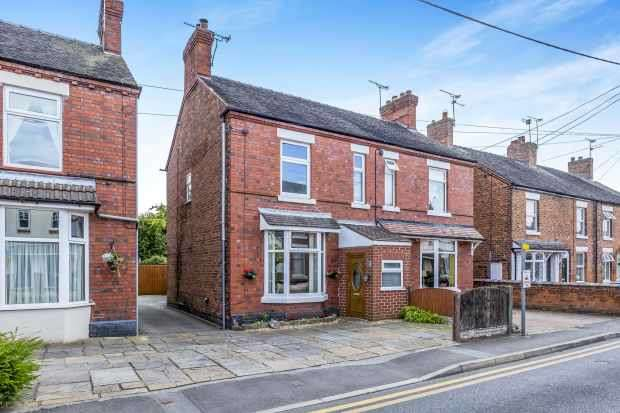 3 Bedrooms Semi Detached House for sale in Wistaston Road, Nantwich, Cheshire, CW5 6QU