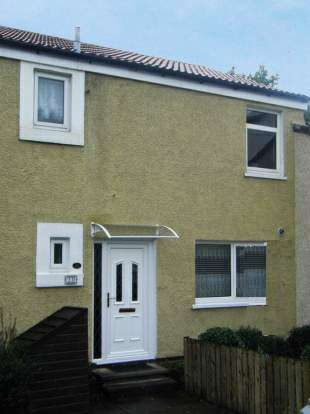 3 Bedrooms Terraced House for sale in Corserine Bank, Irvine, Ayrshire, KA11 1LH