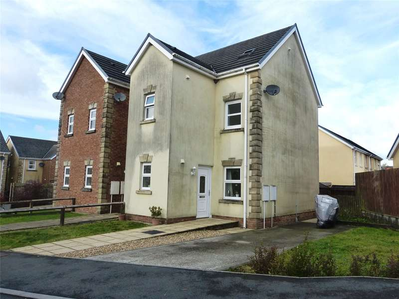 3 Bedrooms Semi Detached House for sale in Maes Abaty, Whitland, Carmarthenshire