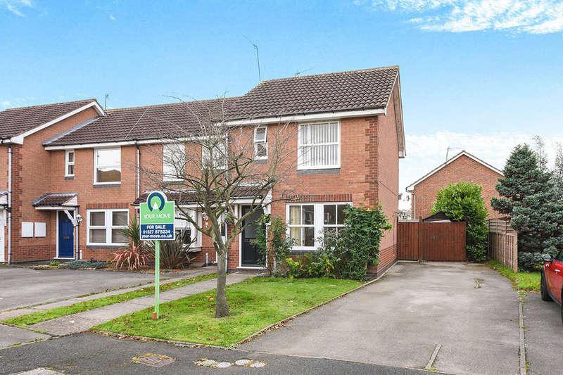 2 Bedrooms Semi Detached House for sale in Moorsom Way, Bromsgrove, B60