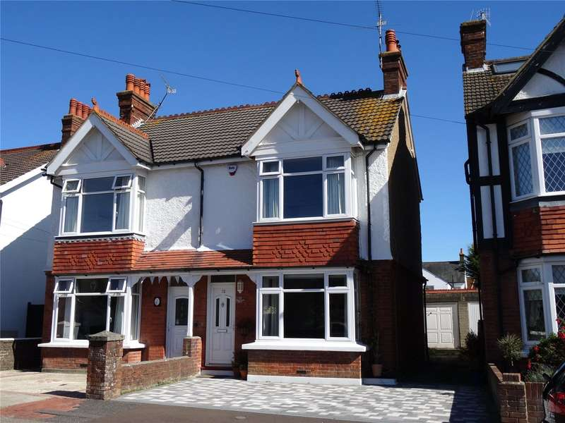 3 Bedrooms Semi Detached House for sale in Northfield Road, Tarring, Worthing, BN13