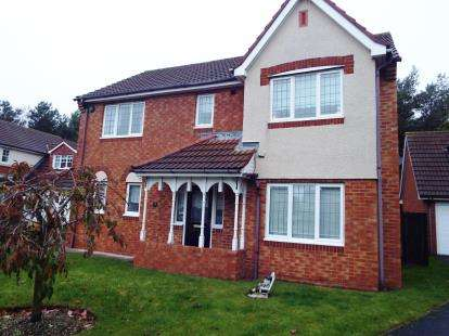 4 Bedrooms Detached House for sale in Ballston Close, Washington, Tyne and Wear, NE38