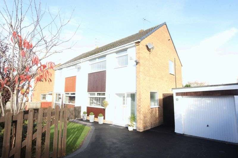 3 Bedrooms Semi Detached House for sale in Carol Drive, Heswall, Wirral