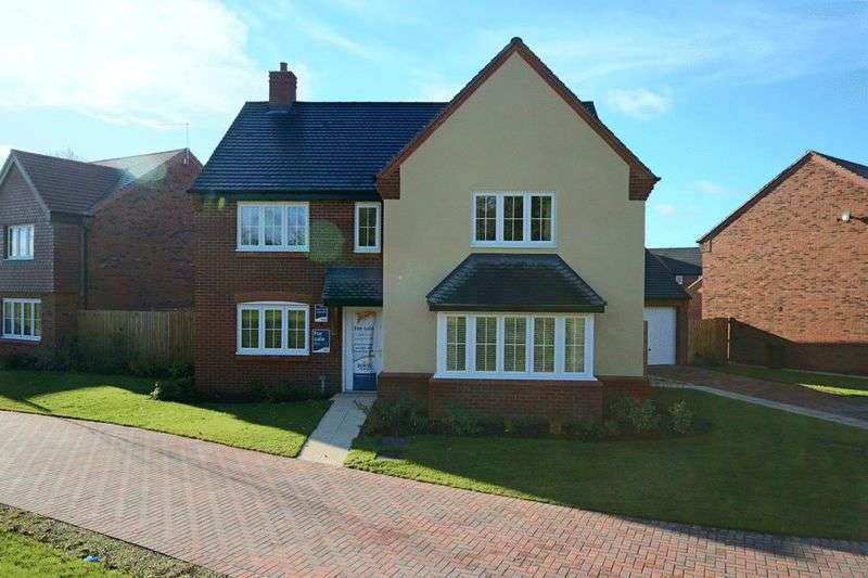 5 Bedrooms Detached House for sale in Worthington Grove, Yarnfield, Stone