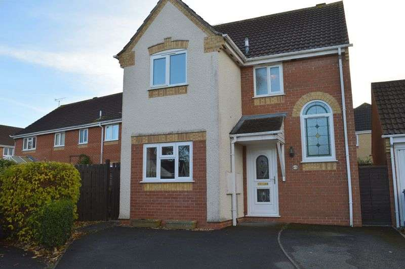 3 Bedrooms Detached House for sale in Horsefields, Gillingham