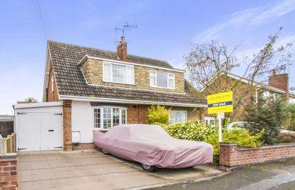 3 Bedrooms Semi Detached House for sale in Cornwall Road, Wigston, Leicester, Leicestershire