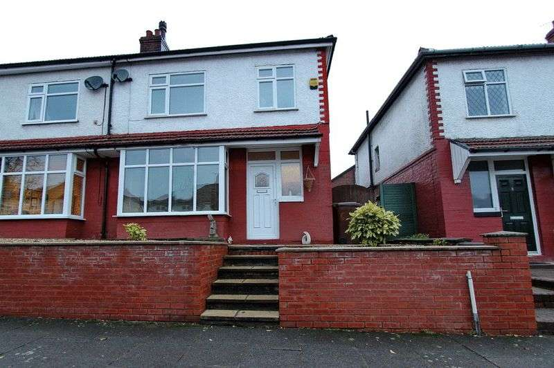 3 Bedrooms Semi Detached House for sale in Grosvenor Avenue, Whitefield, Manchester