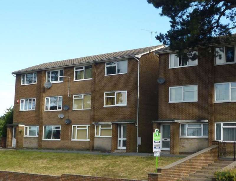 2 Bedrooms Flat for sale in Ashley Court, Burton-On-Trent, DE15