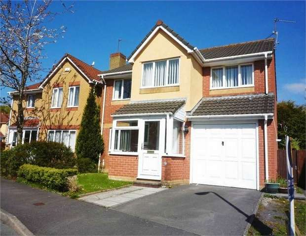 4 Bedrooms Detached House for sale in Thistle Close, Barry, Vale of Glamorgan
