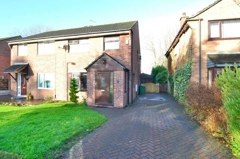 3 Bedrooms Semi Detached House for sale in Longfield Avenue, Heald Green