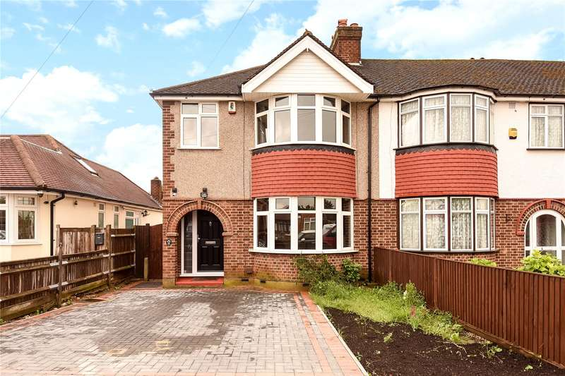 3 Bedrooms End Of Terrace House for sale in Jubilee Drive, South Ruislip, Middlesex, HA4