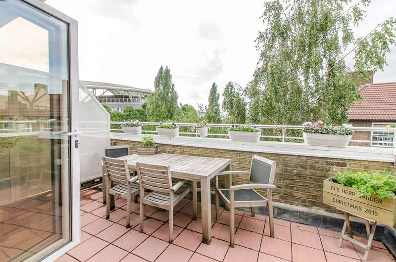 2 Bedrooms Flat for sale in Oval Mansions, Oval, SE11