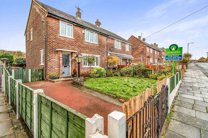 3 Bedrooms Semi Detached House for sale in Crawford Avenue, Tyldesley, Manchester, M29