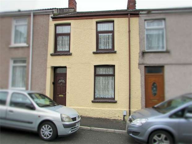2 Bedrooms Terraced House for sale in Helens Road, Penrhiwtyn, Neath, West Glamorgan
