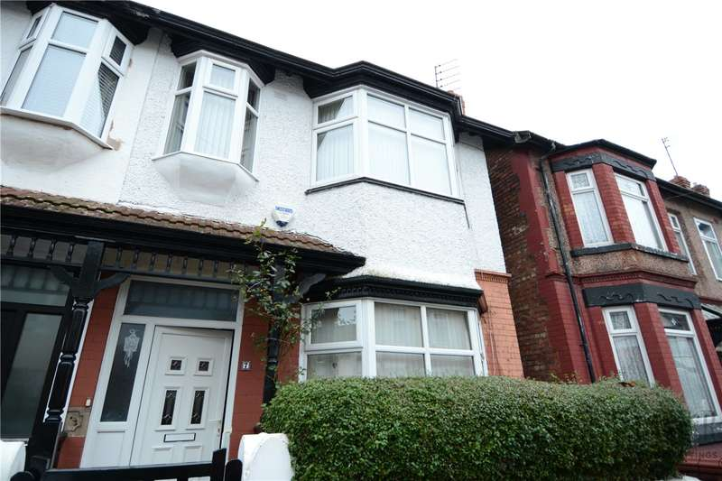 4 Bedrooms Semi Detached House for sale in Thirlmere Drive, Wallasey, Wirral