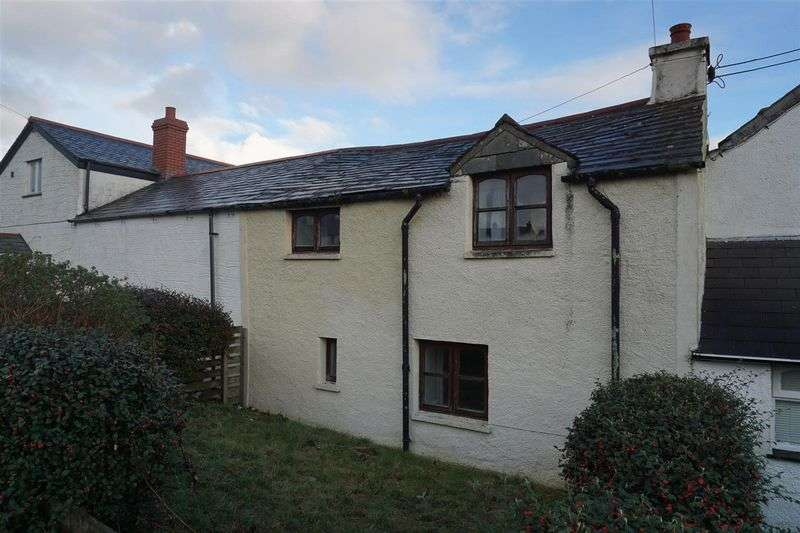 2 Bedrooms Terraced House for sale in Honeysuckle Cottage 3 Water Lane Delabole Cornwall PL33 9BH