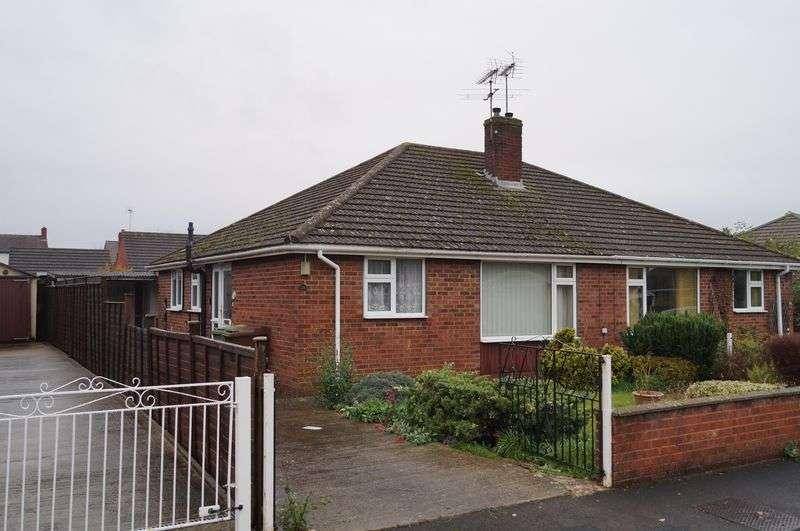2 Bedrooms Semi Detached Bungalow for sale in Lea Road, Brockworth, Gloucester