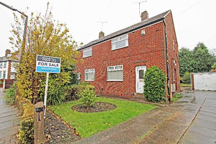 2 Bedrooms Semi Detached House for sale in Stag Crescent, South Yorkshire, S60 3NX