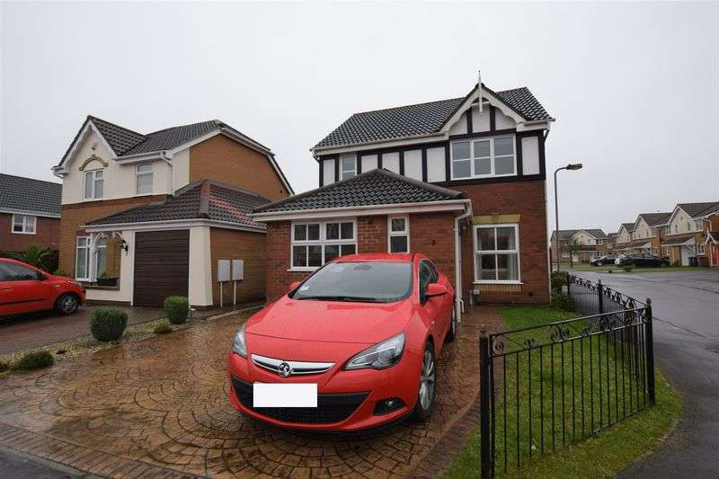 4 Bedrooms Detached House for sale in Cardyke Way, Lincoln
