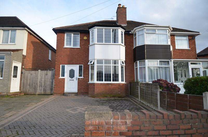 3 Bedrooms Semi Detached House for sale in Brandwood Road, Kings Heath, Birmingham