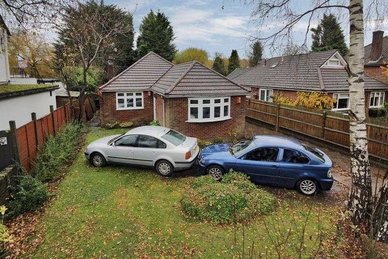 3 Bedrooms Detached Bungalow for sale in Antlands Lane East, Shipley Bridge, Horley, Surrey