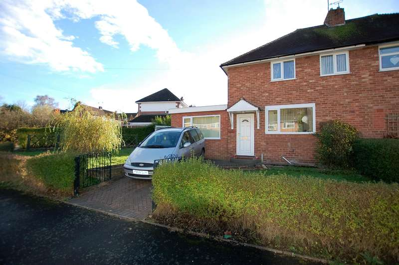 4 Bedrooms Semi Detached House for sale in Meadow Lane, Wombourne, WV5 9BU