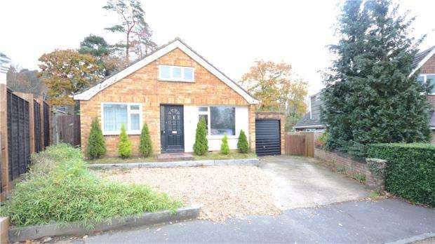 3 Bedrooms Detached Bungalow for sale in Ryan Mount, Sandhurst, Berkshire