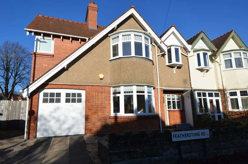 4 Bedrooms Semi Detached House for sale in Featherstone Road, Kings Heath, Birmingham