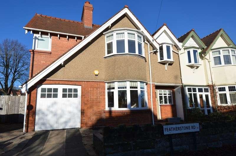 4 Bedrooms Semi Detached House for sale in Featherstone Road, Kings Heath, Birmingham