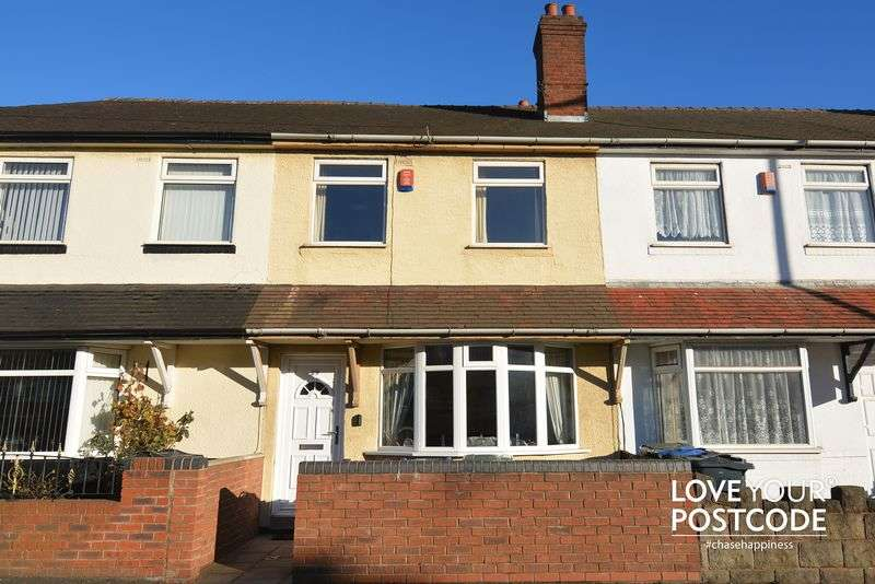 3 Bedrooms Terraced House for sale in Black Lake, West Bromwich B70 OPL