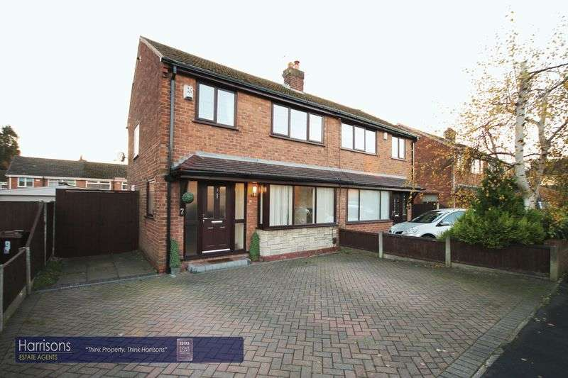 3 Bedrooms Semi Detached House for sale in Cumberland Road, Atherton, Manchester, Greater Manchester.