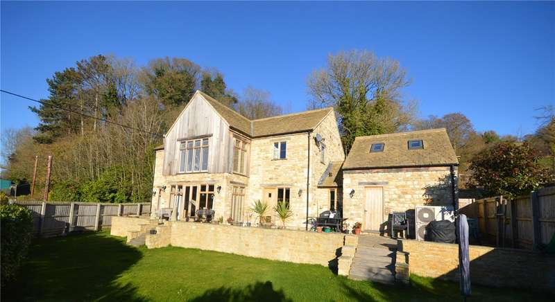 4 Bedrooms Detached House for sale in Brimscombe Lane, Brimscombe, Stroud, Gloucestershire, GL5
