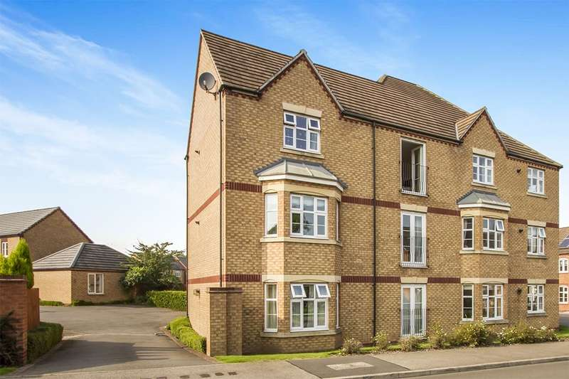 2 Bedrooms Flat for sale in Darwin Crescent, Loughborough, LE11