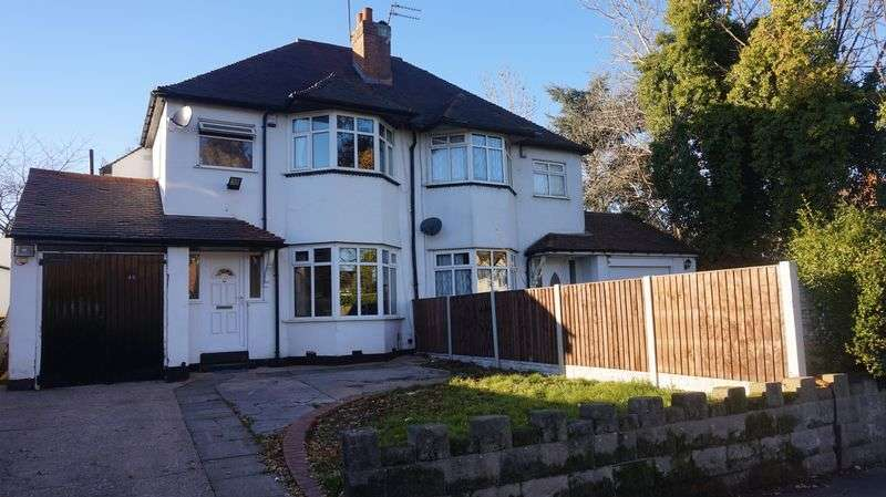 3 Bedrooms Semi Detached House for sale in West Heath Road, Birmingham
