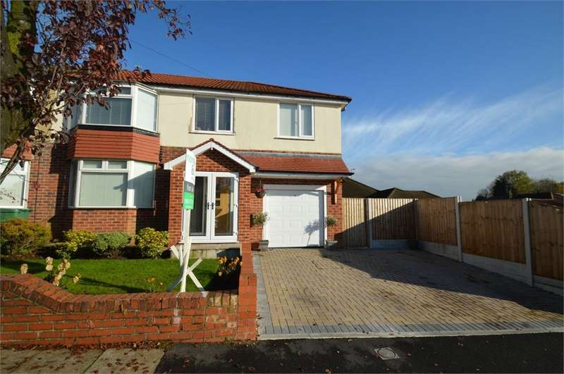 5 Bedrooms Semi Detached House for sale in Montgomery Drive, Bury, BL9