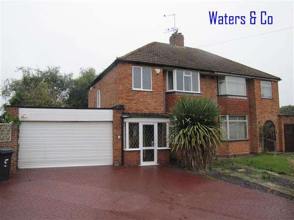 3 Bedrooms Semi Detached House for sale in Colebridge Crescent, Coleshill
